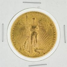 1927 $20 AU St. Gaudens Double Eagle Coin