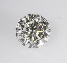 GIA Certified 0.73ct Round Cut Loose Diamond