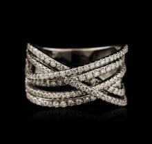 14KT White Gold 0.80ctw Diamond Ring