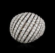 14KT White Gold 1.82ctw Diamond Ring