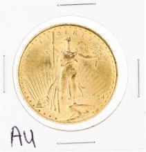 1924 $20 Au St. Gaudens Double Eagle Coin