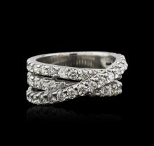 14KT White Gold 2.40ctw Diamond Ring
