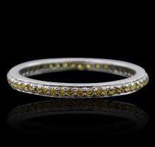 14KT White Gold Diamond Band Ring
