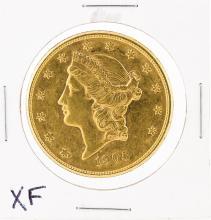 1905-S $20 XF Liberty Head Double Eagle Coin