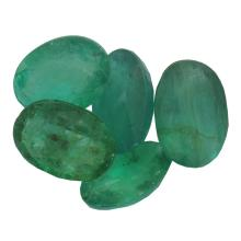 3.56ctw Oval Mixed Emerald Parcel