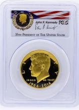 2014-W PCGS PR69DCAM 50th Anniversary JFK Half Dollar Gold Coin