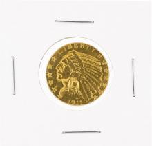 1911-S $5 C Indian Head Half Eagle Gold Coin