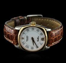 Rolex 18KT Two-Tone Gold Cellini Danaos Ladies Watch