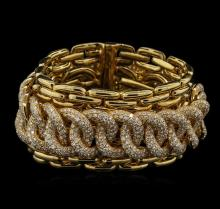 Ralph Lauren 21.00ctw Diamond Bracelet - 18KT Yellow Gold