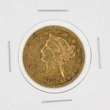 1889-S $10 XF Liberty Head Eagle Gold Coin