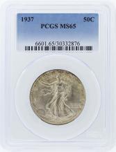 1937 PCGS MS65 Liberty Walking Half Dollar