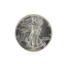 1993 American Silver Eagle Dollar BU Coin