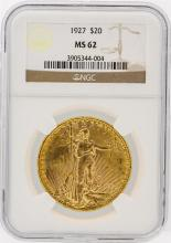 1927 NGC MS62 $20 St. Gaudens Double Eagle Gold Coin