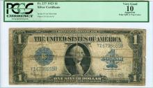 1923 $1 Large Silver Certificate PCGS Graded VG10
