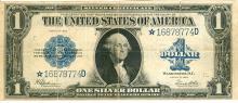 U.S. Series 1923 $1 Silver Certificate Bank Note