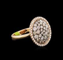 2.16ctw Diamond Ring - 14KT Rose Gold