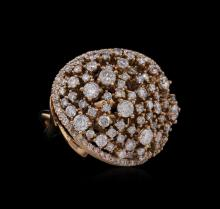 14KT Rose Gold 2.34ctw Diamond Ring