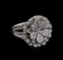 1.72ctw Diamond Ring - 18KT White Gold