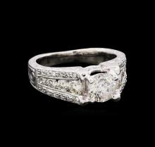 1.87 ctw Diamond Ring - 18KT White Gold