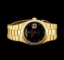 Rolex 18KT Gold OysterQuartz DayDate Men's Watch