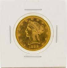 1892 $10 Liberty Head Eagle Gold Coin