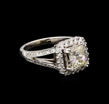2.43 ctw Diamond Ring - 14KT White Gold