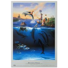 Dolphin Rides by Wyland
