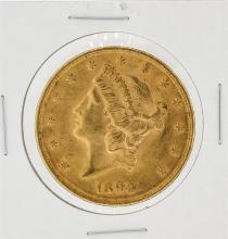 1899 $20 CU Liberty Head Double Eagle Gold Coin