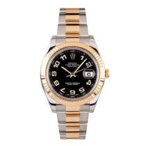 Rolex Two Tone Gold DateJust Men's Watch
