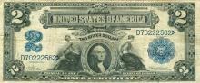 1899 Large Note $2 United States