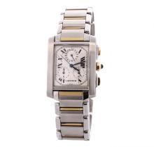 Cartier Two-Tone Tank Francaise Men's Watch