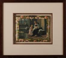 Antique Victorian Celluloid Album Cover