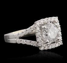 18KT White Gold 2.55ctw Diamond Ring