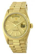 Rolex 18KT Yellow Gold President DayDate Men's Watch