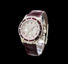 Rolex 18KT White Gold Ruby and Diamond Daytona Men's Watch
