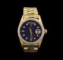 Rolex President 18KT Gold 1.00 ctw DayDate Men's Watch