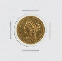 1900-S $5 VF Liberty Head Half Eagle Gold Coin