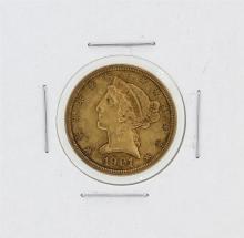 1901-S $5 XF Liberty Head Half Eagle Gold Coin