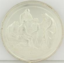 Silver Commemorative Medal