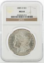 1885-O NGC MS64 Morgan Silver Dollar