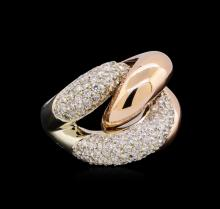 2.53ctw Diamond Ring - 14KT Two-Tone Gold