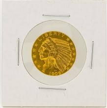 1909-D $5 XF Indian Head Half Eagle Gold Coin