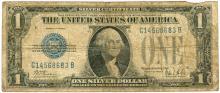 1928B $1 Silver Certificate