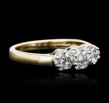 14KT Two-Tone Gold 0.35ctw Diamond Ring