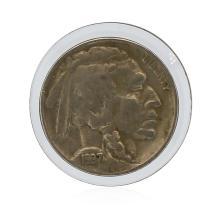 1937-D VF Buffalo Nickel