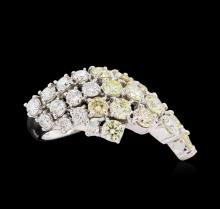 14KT White Gold 5.67ctw Diamond Ring