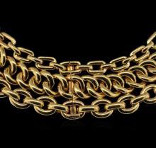Ralph Lauren 18KT Yellow Gold Necklace