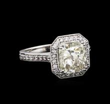 14KT White Gold 3.62ct I-1/M Diamond Ring