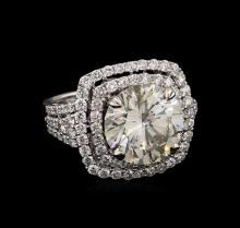 18KT White Gold 7.19ctw Diamond Ring