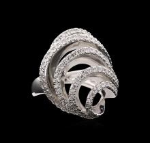 1.11ctw Diamond Ring - 14KT White Gold